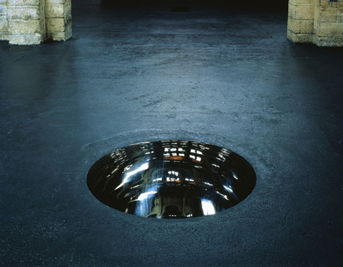 Reflective Manhole Cover | 'Iris' by Anish Kapoor