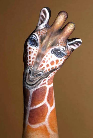 Amazing Art 5 Guido-daniele-giraffe