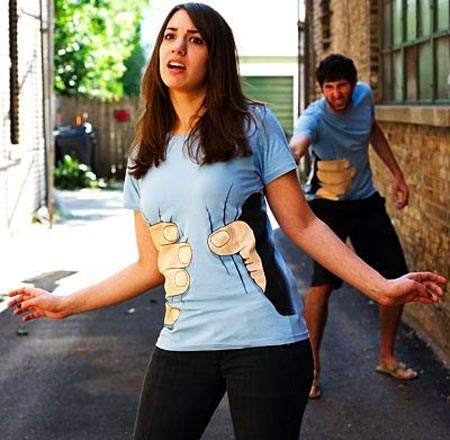 Hand Grab T-Shirt