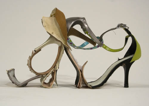 High Heel Sculpture