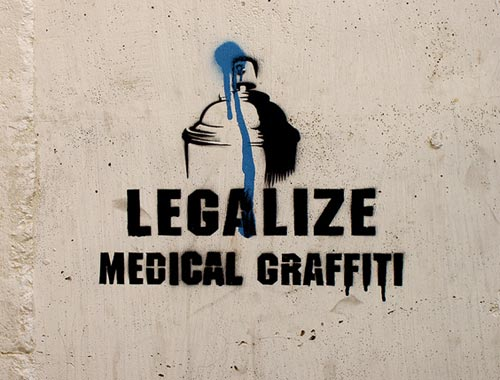 Legalize Medical Graffiti