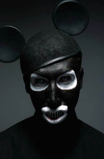 Marilyn Manson Mickey Mouse Ablum Art for The Golden Age