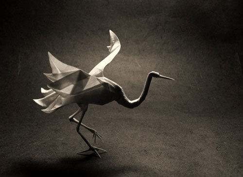 origami paper crane sculpture 187 funny bizarre amazing
