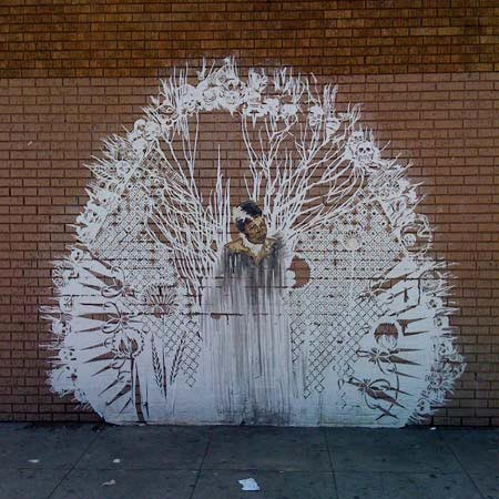Paper-Cut Graffiti