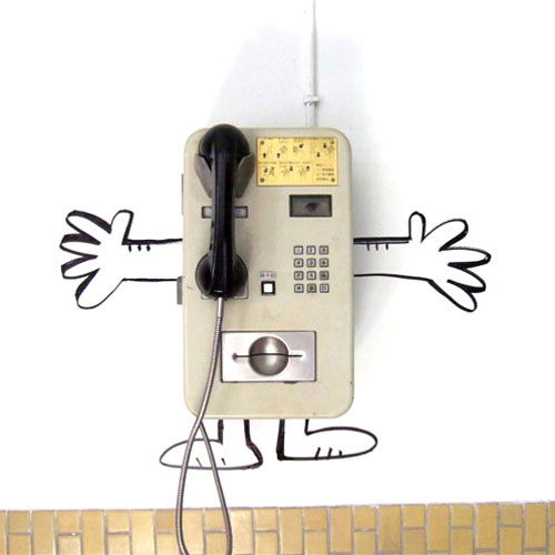 Tags Funny Graffiti Payphone Photo