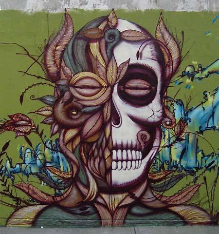Calavera | Sugar Skull Graffiti