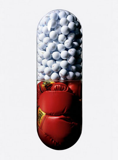 Golf and Boxing In A Pill