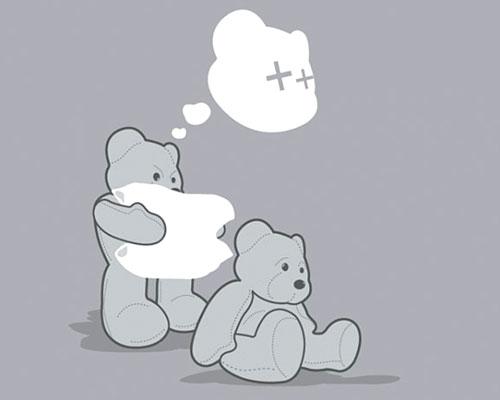 Bad Teddy Bear Design