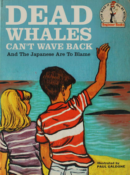 Bizarre Children Book - Dead Whales Cant Wave Back