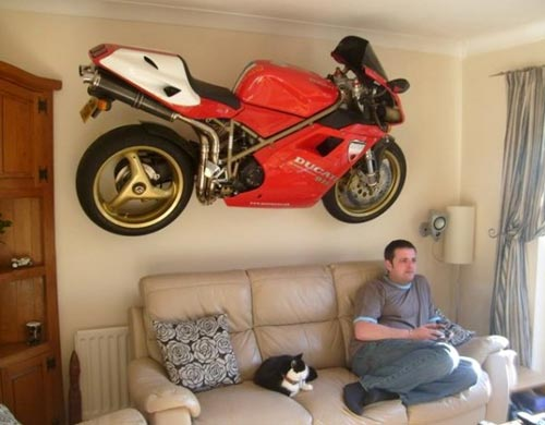Mounted Ducati Wall Art