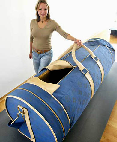 Duffel Bag Coffin