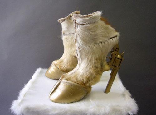 Bizarre Hoof Heel Shoes