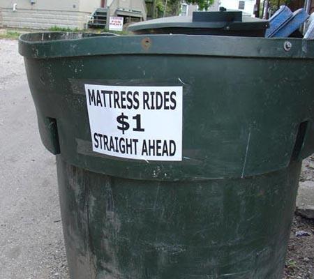Mattress Rides $1