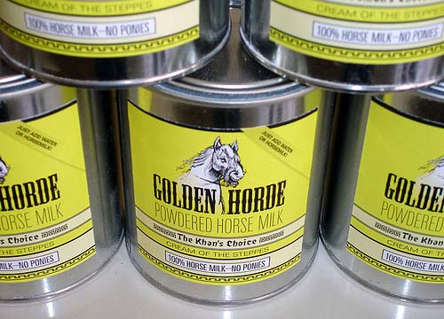 Golden Horde Powdered Horse Milk