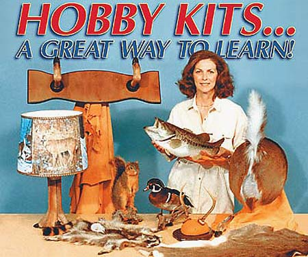 Taxidermy Hobby Kit