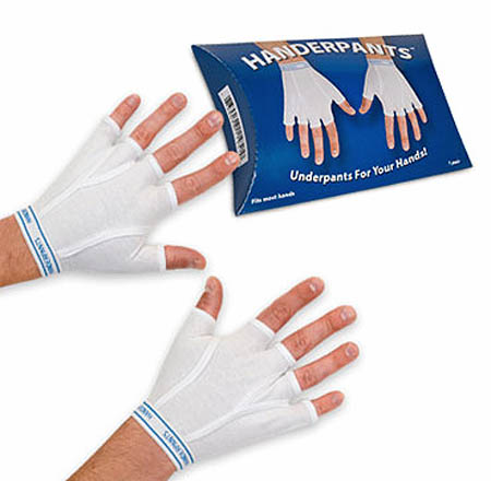 Handerpants, Tighty Whities For Your Hands