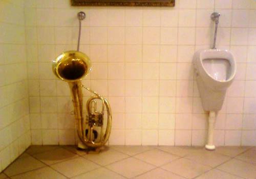 Horn Urinal
