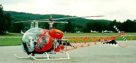 1966 Batman Bell Helicopter