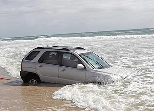 Tide comes in on Kia SUV