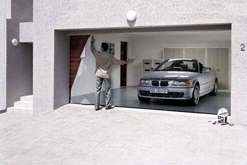 BMW Fake Garage Ad