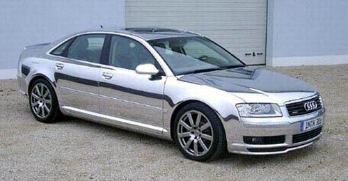 Chromed Audi