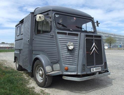 Vintage Citroen HY Delivery Van
