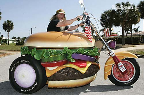 Hamburger Harley by Harry Sperl