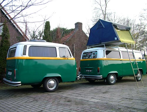 VW Bay Window Bus Trailer