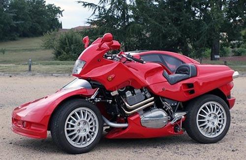Citroen Xantia Motorcycle Sidecar