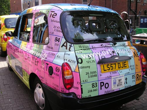 Periodic Table Taxi