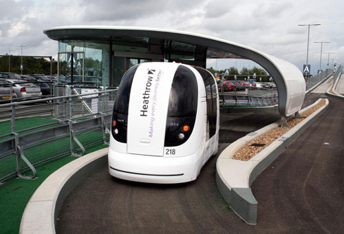 Driverless Rapid Transit at Heathrow Airport