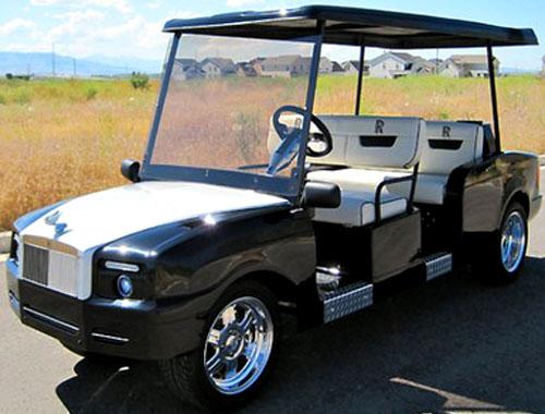 Rolls Royce Golfcart
