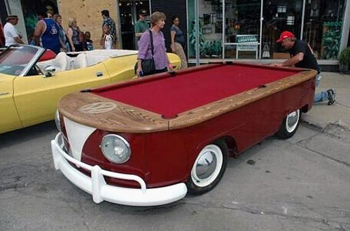 VW Van Pool Table