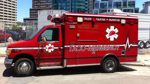 Taco Emergency Vehicle