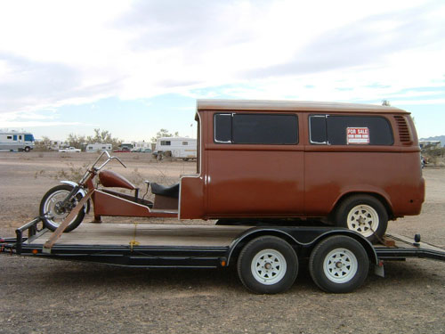 Volkswagen Motorcycle Bus