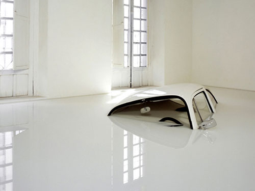 Volkswagen Beetle Art Installation
