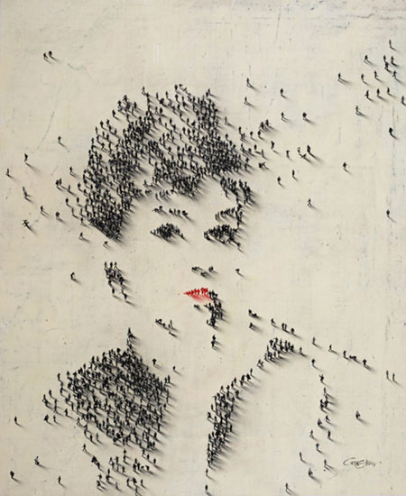 Audrey Hepburn People Pixel Portrait