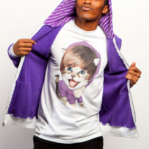 Justin Bieber Kitty Cat Tshirt