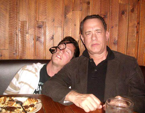 Drinking With Tom Hanks Photo