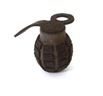 Felted Grenade