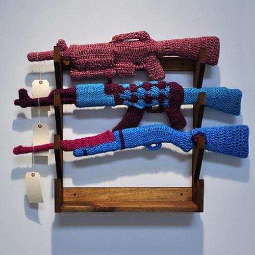 Knit Gun Cozies