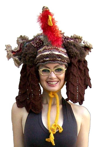 Festive Thanksgiving Turkey Hat