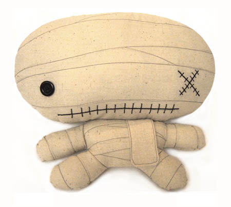 Stuffed Mummy Plushie Doll