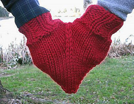 Smitten Mitten For Holding Hands