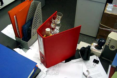 Office Booze Binder