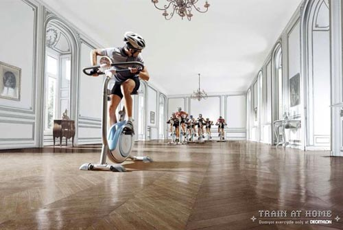 Exercise Bike Race