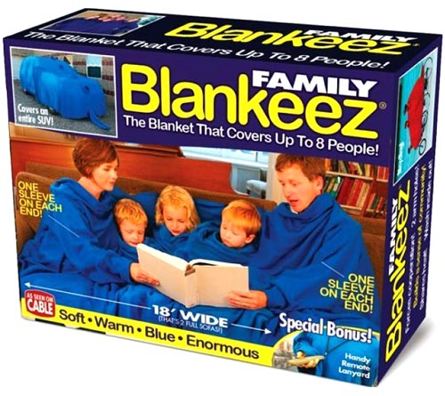 Snuggle Blanket For Up To Eight People