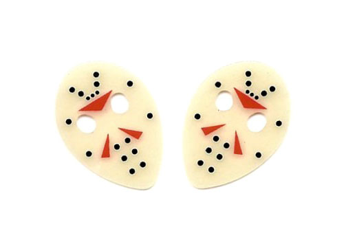 Friday The 13th Hockey Mask Guitar Picks