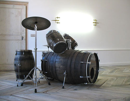 Keg Barrel Drum Set