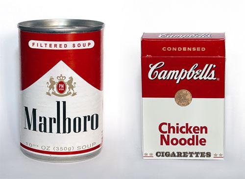 Marlboro & Campbells Soup Branding